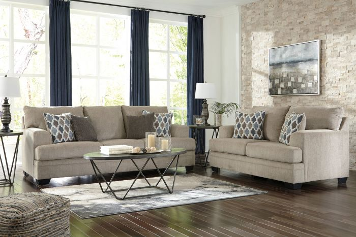 Liberty Sofa and Loveseat