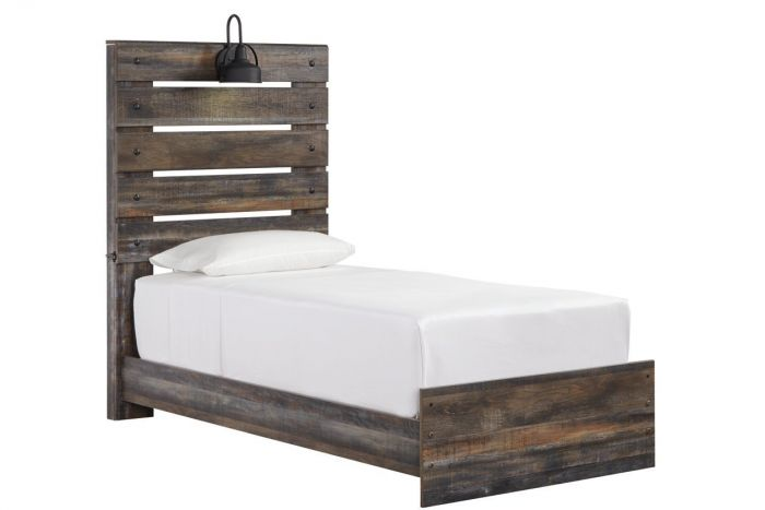 Drystan Twin Panel Bed