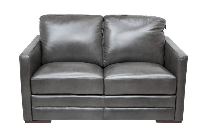 Copperas Cove Leather Loveseat