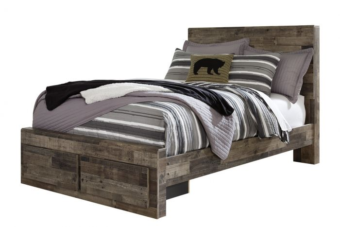 Cross Plains Full Storage Bed