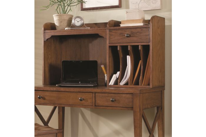 Hearthstone Home Office Writing Desk Hutch