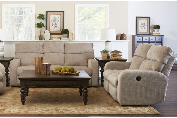 Graham Power Reclining Sofa and Loveseat
