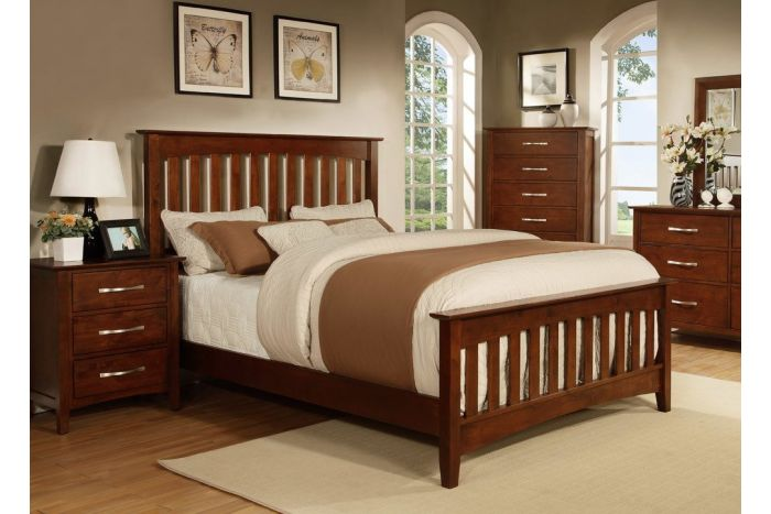 Contempo II 7 Pc Queen Slat Bedroom
