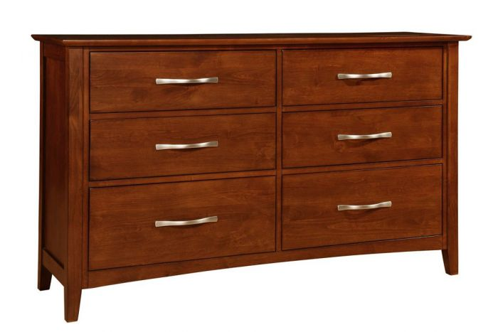 Contempo II 6 Drawer Dresser