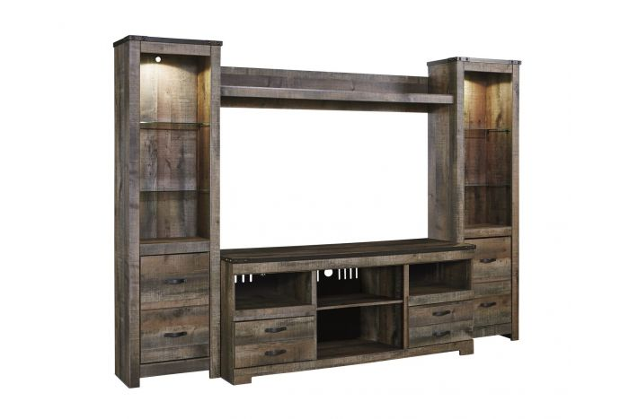 Trinell 4 Piece Wall Unit