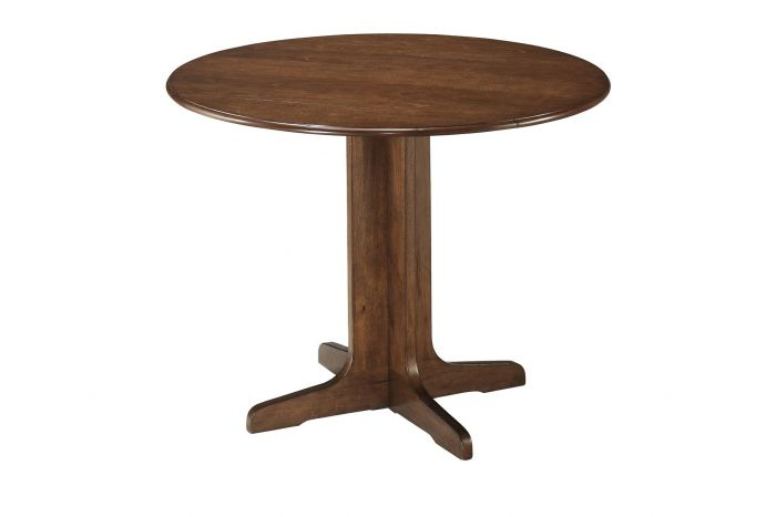 Commerce Round Drop Leaf Table