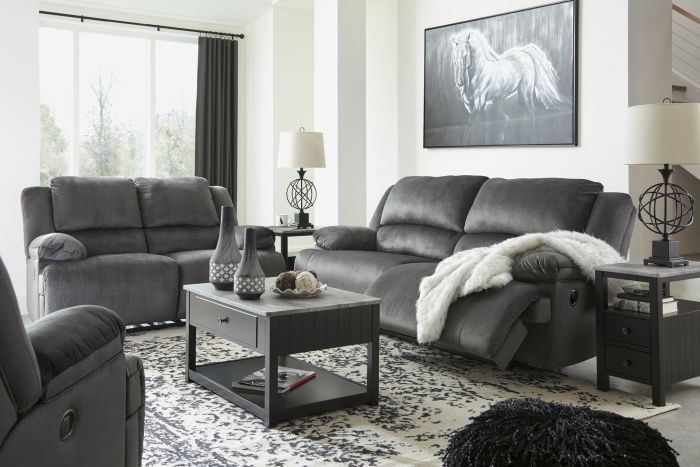 Kirbyville Reclining Sofa and Reclining Loveseat