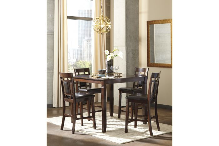 Mabank Square 5 Pc Counter Height Set