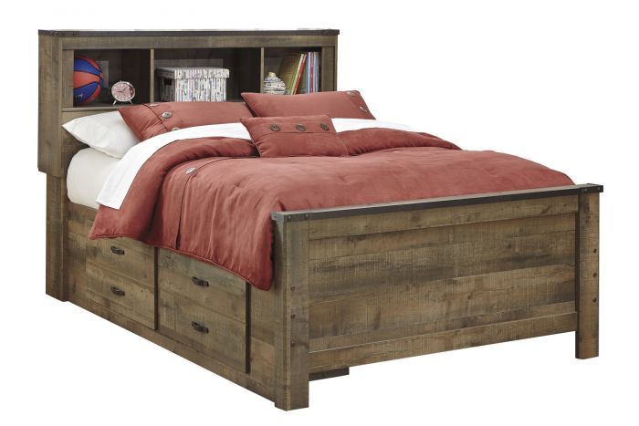 Trinell Full Captains Bed
