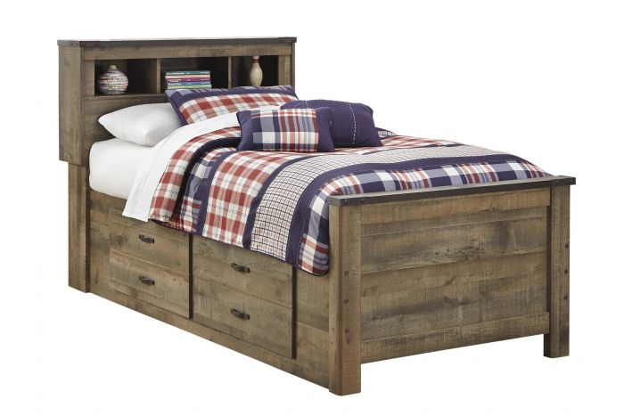 Trinell Twin Captains Bed