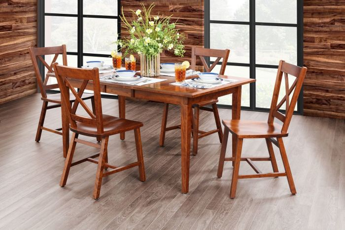 Silver Springs Amish 5 Pc Dining Set