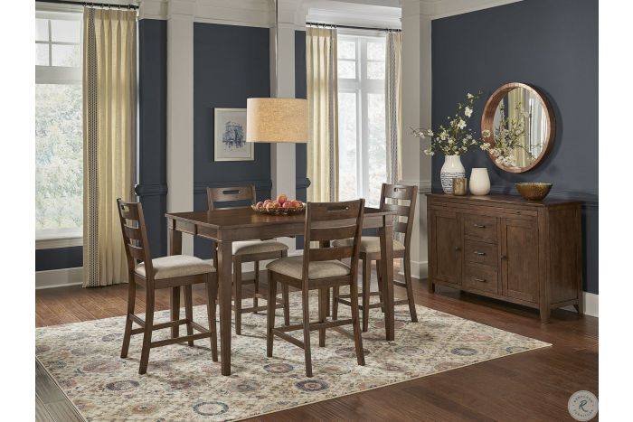 Blue Mountain 5 Pc Counter Height Set