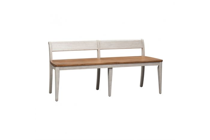 Walthourville Wood Seat Bench