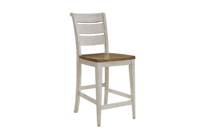 Walthourville Ladder Back Counter Chair