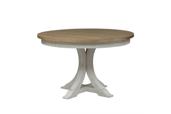 Walthourville Oval Pedestal Table