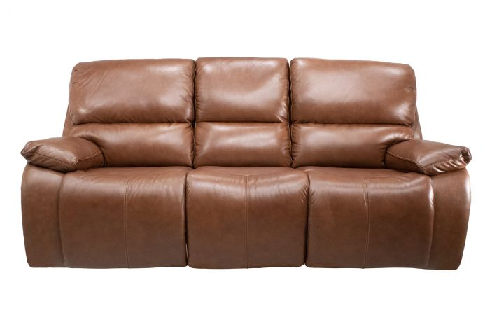 Waynesboro Power Reclining Sofa with Power Headrests and Lumbar Support